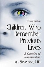 Children who remember prior lives book cover by Ian Stevenson