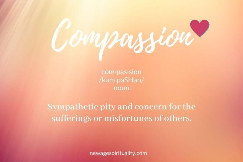 Compassion definition: sympathetic pity and concern for the sufferings or misfortunes of others