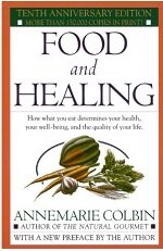 Food and healing book cover