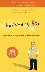 Heaven is for real book cover by Todd Burpo