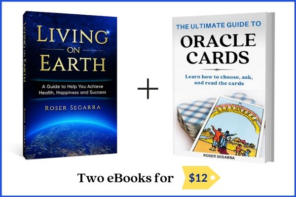 Living on Earth and ultimate guide to oracle cards books offer