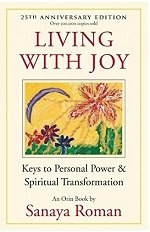 Living with joy book cover by Sanaya Roman