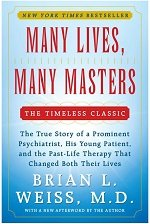Mnay lives many masters book cover, by Brian Weiss