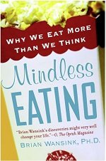 Mindless eating book cover