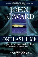 One last time book cover, by John Edward