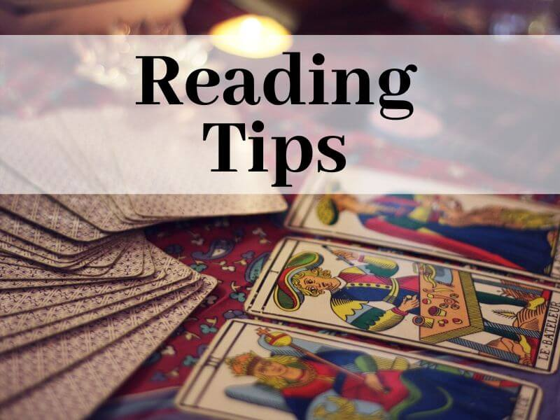 Oracle cards reading tips for beginners