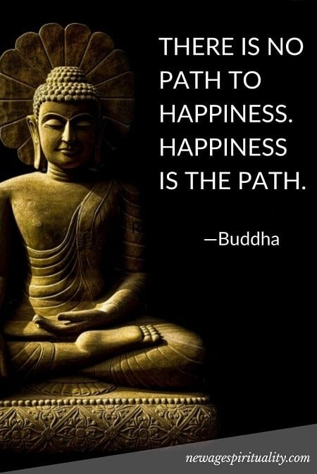 THERE IS NO PATH TO HAPPINESS-min