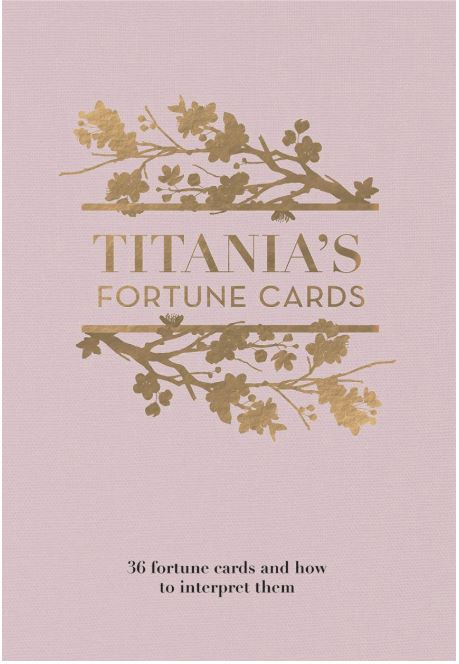 Titanias fortune cards cover by Titania Hardie