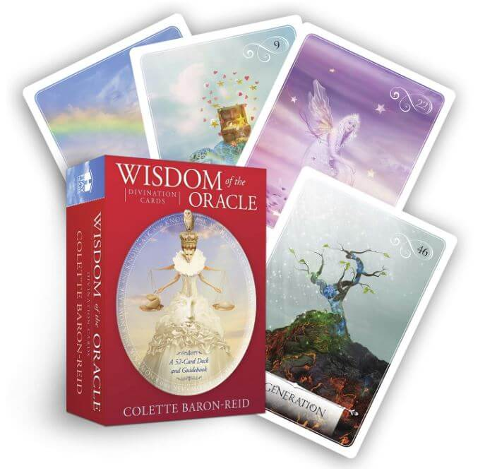 Wisdom of the oracle divination cards by Colette Baron Reid