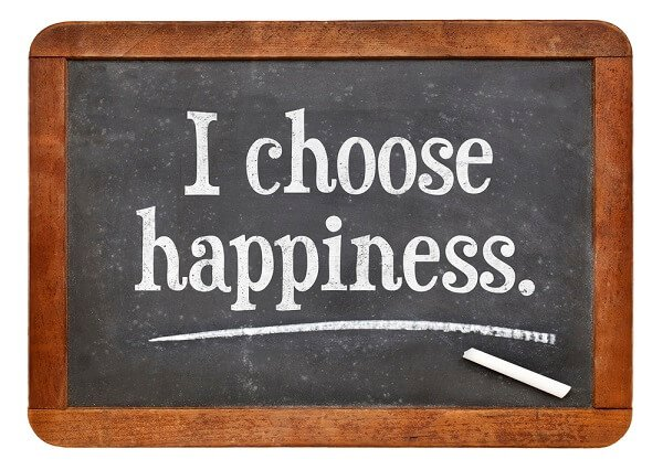 affirmation I choose happiness