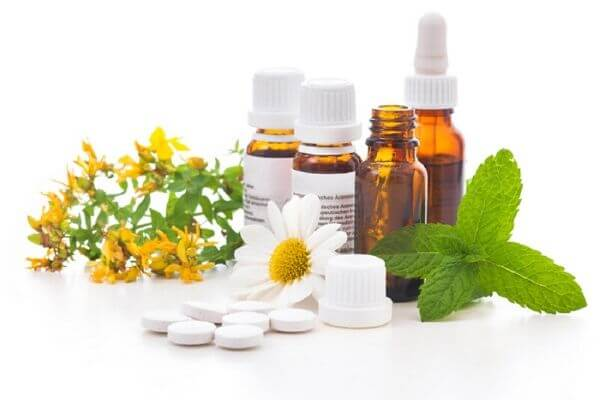homeopathy pills and bottle