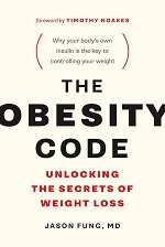 The obesity code book cover by Dr Jason Fung